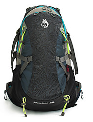 40 L Rucksack Climbing Camping & Hiking Waterproof Rain-Proof Waterproof Zipper Dust Proof Nylon