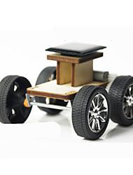 economico -Macchinine giocattolo Giocattoli a energia solare Costruzioni Modello in legno Giocattoli Auto Originale Fai da te Elettrico Legno Metallo