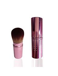Pincel para Blush Escova de Cabelo de Cabra Viagem Amiga-do-Ambiente Plástico Rosto Blush