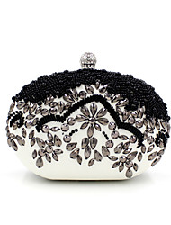 cheap -Women's Bags Polyester / PU Evening Bag Imitation Pearl / Crystal / Rhinestone for Wedding / Event / Party / Formal