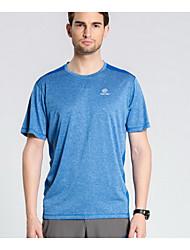 preiswerte -Herrn Unisex T-Shirt für Wanderer Rasche Trocknung Leicht Oberteile für Freizeit Sport Sommer M L XL