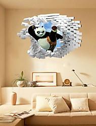 Cartoni animati Astratto Fantasia Adesivi murali Adesivi 3D da parete Adesivi decorativi da parete,Carta Materiale Decorazioni per la casa