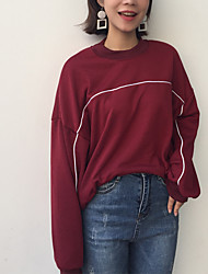 Sign chic Korea Institute of wind wild fashion solid color loose long-sleeved open-wire high-necked sweater hedging