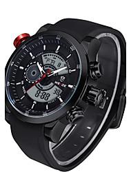 baratos -Homens Relógio Esportivo / Relógio Esqueleto / Relógio de Pulso Venda imperdível Couro Legitimo Banda Amuleto / Luxo / Casual Cores Múltiplas