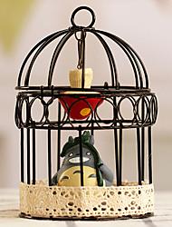Uccello A rete Acciaio Inox Nero