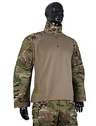 preiswerte -Herrn Damen Unisex Langarm Jagdjacke mit Hose Taktisch camuflaje Kleidungs-Sets für Jagd S M L XL XXL