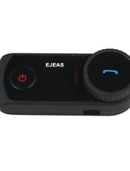 ejeas-e2 1pcs мотоцикла Поддержка Bluetooth гарнитуры / рацию 4 человек переключение внутренней связи 3.0 профессиональные Bluetooth