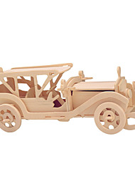 cheap -Toy Cars Wooden Puzzles Car Chinese Architecture Professional Level Wood Carnival Valentine's Day Birthday Gift