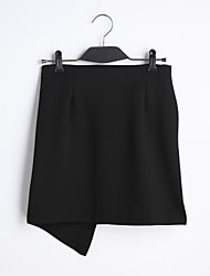 cheap -Women's Casual Pencil Skirts - Solid Colored