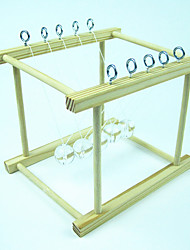 cheap -Balls Newton Cradle Balance Balls Model Building Kit Science & Discovery Toys Toys Sphere Classic Wood Glass Metal 1 Pieces