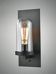 Creative modern minimalist Restaurant Bar American country aisle stairs Edison wall single head lamp glass