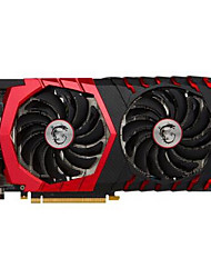 MSI Video Graphics Card GTX1060 GTX 1060 GAMING X 6G 1594-1809MHz/8100MHz6GB/192 bit GDDR5