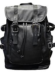 cheap -Men Bags PU Laptop Bag for Casual Black