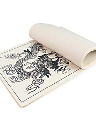 Недорогие -аксессуары для татуировки dragonhawk® 10 x перманентный макияж татуировки практика скины поставки дракон картины