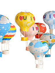 40cm Hot Air Balloon Paper Lantern Wishing Lanterns For Birthday Party Decor Wedding Decorations-1Piece/Set