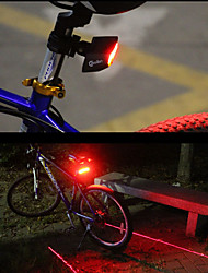 cheap -Rear Bike Light LED Cycling Smart Remote Control Easy Carrying Laser Lumens Red Cycling/Bike