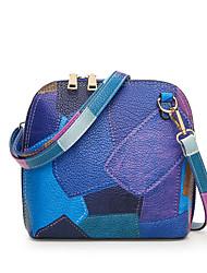 Women Bags All Seasons PU Shoulder Bag for Casual Sports Formal Outdoor Office & Career Blue Gray Purple Light Orange