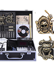 Professional Tattoo Kit 2 carved machine liner & shader 2 Tattoo Machine Inks Not Included
