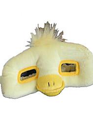 Недорогие -Маски на Хэллоуин Животная маска Мягкие и плюшевые игрушки Игрушки Утка Плюш Ужасы Мультяшная тематика 1 Куски Универсальные День