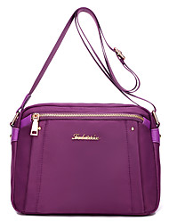 cheap -Women's Bags Oxford Cloth / Nylon Crossbody Bag for Event / Party Blue / Black / Violet