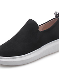 Women's Loafers & Slip-Ons Creepers Comfort Light Soles Leatherette Spring Summer Fall Winter Casual Outdoor WalkingCreepers Comfort