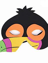 Maschere di Halloween Maschera animale Giocattoli Uccello Tema Horror Cartoni animati 1 Pezzi Unisex Carnevale Giornata universale