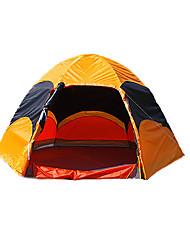 5-8 Pessoas Tenda Duplo Barraca de acampamento Um Quarto Barracas para Acampamento Família Prova-de-Água A Prova de Vento Á