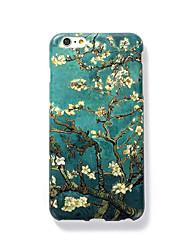 For Syrematteret Præget Mønster Etui Bagcover Etui Træ Hårdt PC for AppleiPhone 7 Plus iPhone 7 iPhone 6s Plus iPhone 6 Plus iPhone 6s