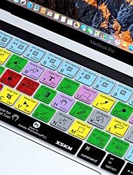Недорогие -xskn® фотомагазин куб.см ярлык кожи силиконовая клавиатура и протектор сенсорной панели для 2016 года новый Macbook Pro 13,3 / 15,4 с