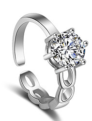 cheap -Women's Ring - Stylish Adjustable Silver For Wedding / Party / Special Occasion