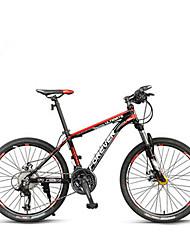 Geländerad Radsport 24 Geschwindigkeit 24 Zoll MICROSHIFT TS38-3 / 9 Doppelte Scheibenbremsen Federgabel Aluminiumgemisch Rahmen