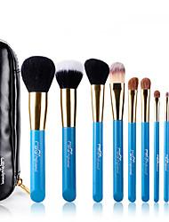 cheap -10pcs Makeup Brushes Professional Makeup Brush Set Goat Hair / Pony / Nylon Hypoallergenic / Limits Bacteria