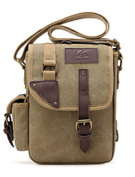 cheap -Women's Bags Canvas Functional Bags Solid Colored Coffee / Khaki / Army Green