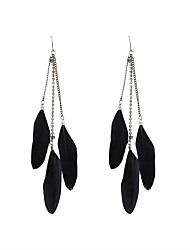 cheap -Women's Drop Earrings - Rhinestone Stylish Black For Wedding / Party / Special Occasion / Daily / Casual / Sports