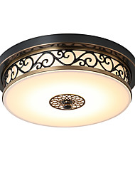 cheap -Flush Mount ,  Modern/Contemporary Traditional/Classic Rustic/Lodge Vintage Retro Country Bronze Feature for LED MetalLiving Room Bedroom