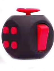 billige -Fidget-legetøj til skrivebordet Fidget-kube Lindrer ADD, ADHD, angst, autisme Kontor Skrivebord Legetøj Focus Toy Stress og angst relief