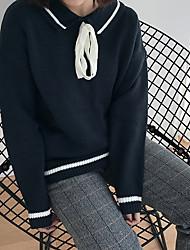 знак отворота колледжа ветер свитер 2017 весна новый продукт кружева