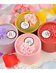 10 Pezzo/Set Porta-bomboniera-Cilindro Carta Vasi e bottiglie per dolci Confezioni regalo Non personalizzato