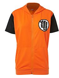 preiswerte -Inspiriert von Dragon Ball Cosplay Anime Cosplay Kostüme Cosplay Tops / Bottoms Mehre Accessoires Patchwork Top Für Herrn Damen