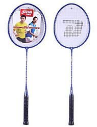 Raquetes para Badminton Elasticidade Alta Durável Fibra Um Par para