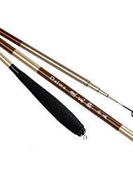 Fishing Rod Telespin Rod Carbon steel 450 cm General Fishing 5 sections Rod Moderate (M) Extra Heavy (XH)