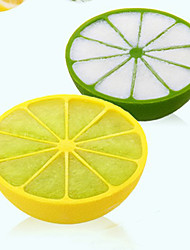 Lattice Box Pudding Box Creative Plastic 10 Grid Lemon Ice Mold Ice Tray Kitchen Bar Tool(1PCS)