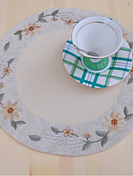 cheap -Elegant Doilies Embroidery Linen Doilies For sale Kitchen & Dining