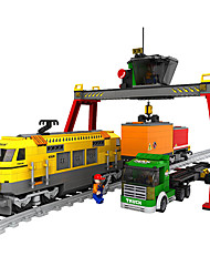 Недорогие -Устройства для снятия стресса Поезд Игрушки Шлейф Оригинальные Мальчики 792 Куски