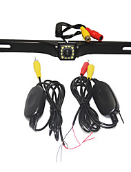 cheap -Parking Assistance System Wireless Car Rear View Camera Auto 12LED CCD 1080P HD RearView Reverse Universal Backup Camera Waterproof Night Vision
