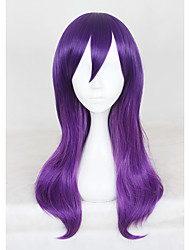 cheap -20Inches Medium Long Purple Watashi Ga Motete Dousunda Kae Serinuma Synthetic Anime Cosplay Wigs CS-321A