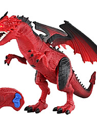 cheap -Remote Control RC Building Block Kit / Dragon & Dinosaur Toy / Model Building Kit Jurassic Dinosaur / Tyrannosaurus / Dragons Animals / Remote Control / RC / Rechargeable Plastic Boys' Kid's Gift