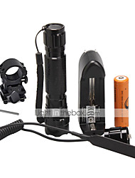 cheap -U'King LED Flashlights / Torch LED 1500 lm 1 Mode with Battery and Charger Camping / Hiking / Caving / Everyday Use / Outdoor