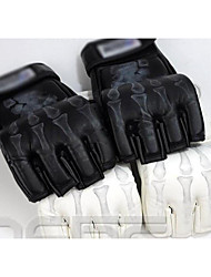 Boxing Bag Gloves Pro Boxing Gloves Boxing Training Gloves Grappling MMA Gloves Punching Mitts for Mixed Martial Arts (MMA) Fingerless