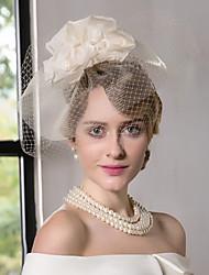 Недорогие -шелковые сетчатые факсимиляторы шляпы головной убор классический женский стиль